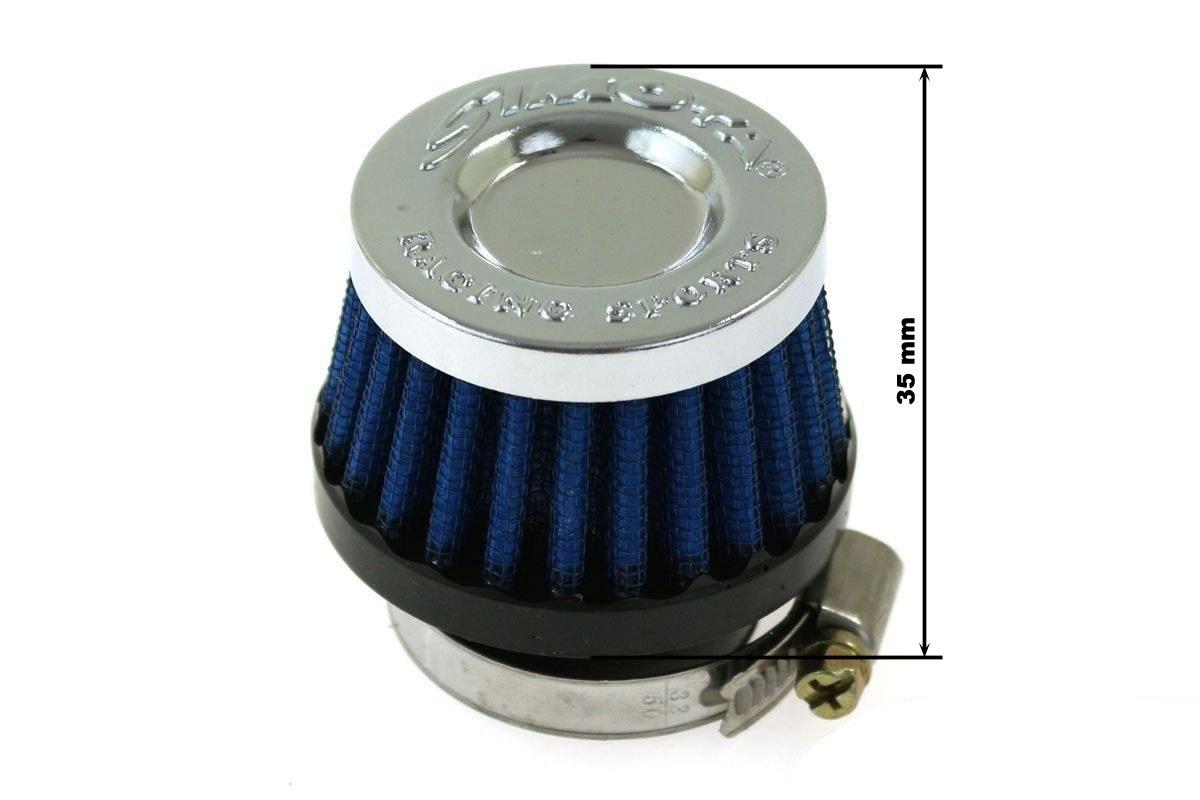 Moto Filtr stożkowy SIMOTA 38mm JAU-MB22223-21 - GRUBYGARAGE - Sklep Tuningowy